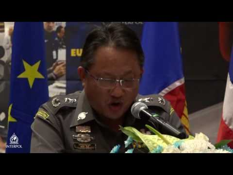 Pornchai Kuntee, Deputy Commissioner of Thailand's Immigration Bureau  closing remarks