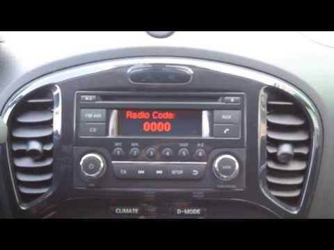 Разблокировка магнитолы Nissan Juke www.nissancode.ru