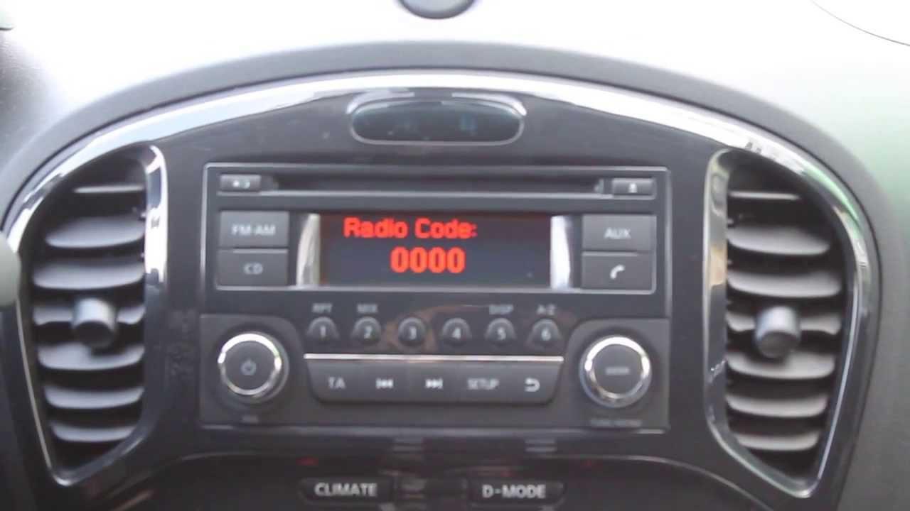 установка аудиосистемы nissan juke