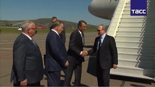 Путин ознакомился с алтайским курортным комплексом