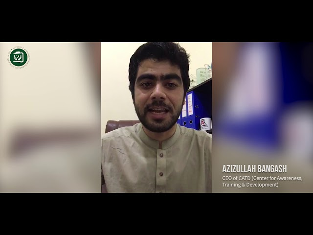 Mr Azizullah Bangash || Health  Development of Balochiastan
