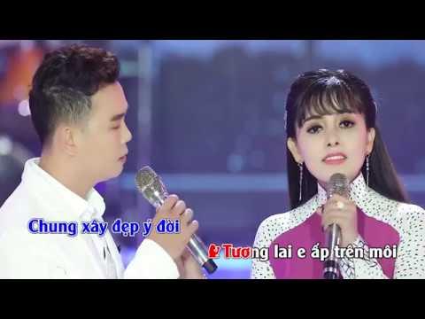 KARAOKE - Khuya Nay Anh Đi Rồi | Song Ca | Hồng Quyên & Thanh Vinh