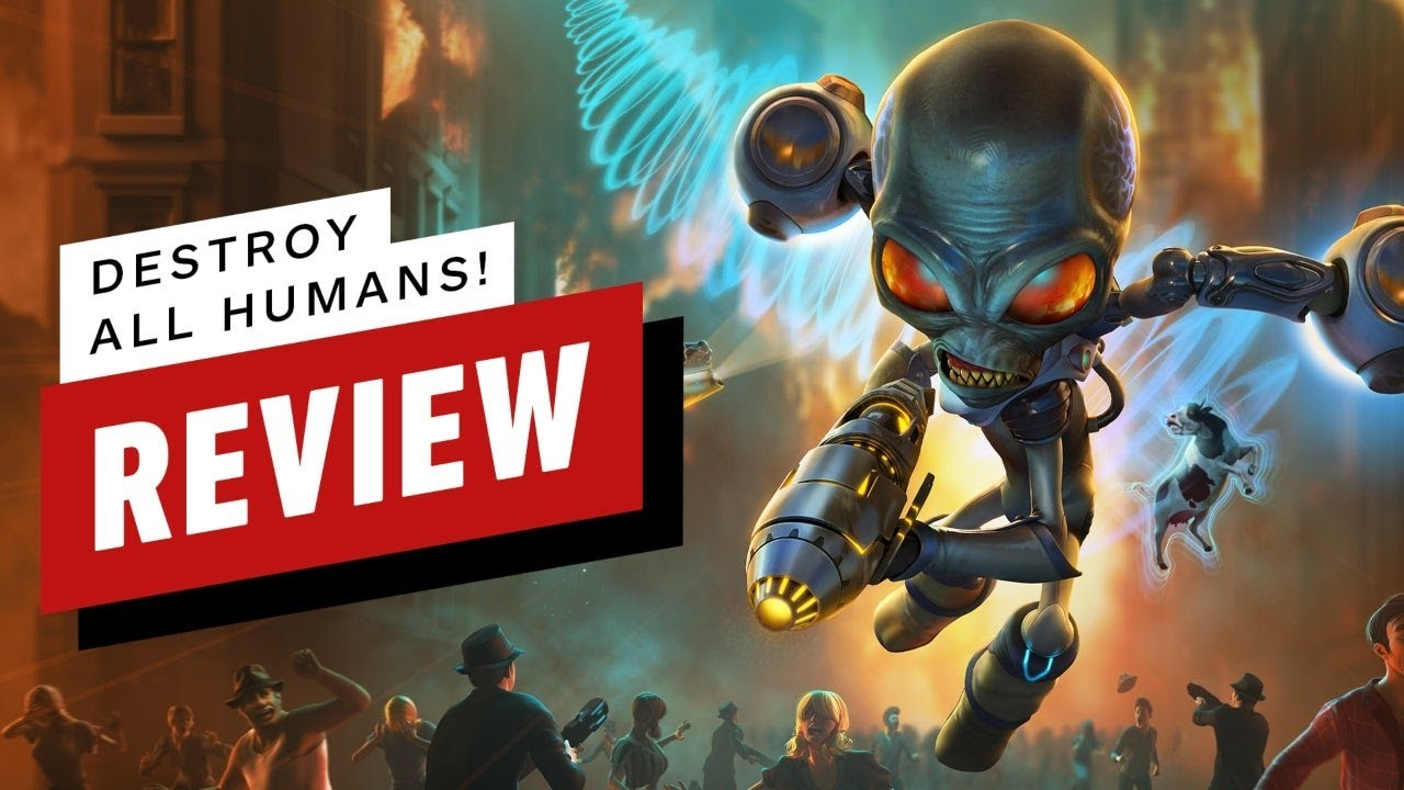 Destroy All Humans! Review (Video Game Video Review)