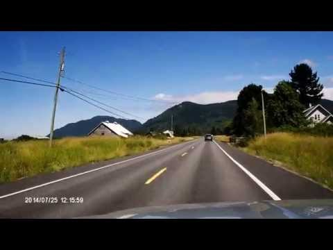 Chuckanut Drive via Dashcam 072514