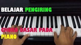 Belajar Chord Dasar Pada Piano (Chord Pengiring)
