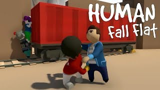 Human Fall Flat - This Game Looks Different... [ONLINE]