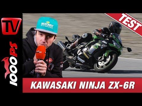 Kawasaki Ninja ZX-6R 2019 Trackday Test - Allroundtalent dreht auf Strecke kräftig auf