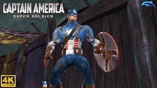 Captain America: Super Soldier - Wii Gameplay 4k 2160p (DOLPHIN)