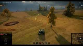 World of tanks-Баг на 0.8.0.Полёт через всю карту