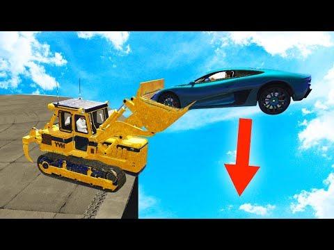 BULLDOZERS vs. SUPERCARS SUMO DERBY! (GTA 5 Funny Moments)