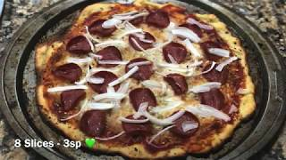 Weight Watchers - Two Ingredient Dough Prep - Pepperoni Pizza!