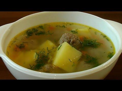 Суп-выручалка за 30 минут. Фрикадельковый суп - вкусно и просто.