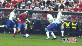 PES 2012 Gameplay Trailer Konami Nintendo Wii,3DS,PS2,PS3,Xbox 360,PC,PSP (HD)
