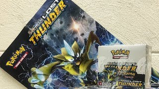 Early Pokemon Lost Thunder Booster Box Opening!
