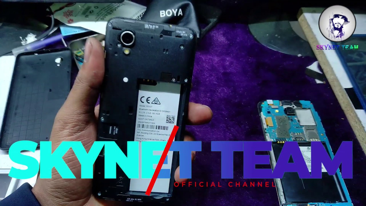 Alcatel T 5030T Android 8 1 0 Oreo Remove Google Account FRP Bypass Easy Way