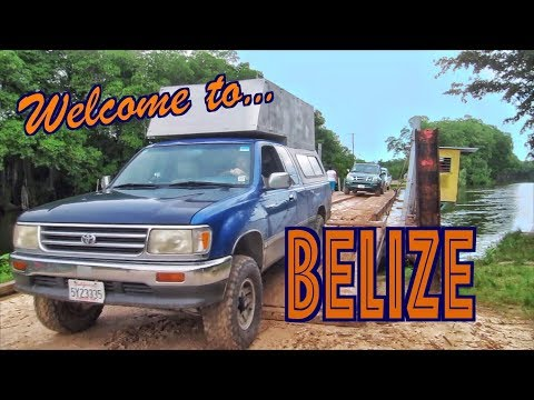 Mexico Belize Border Crossing With A Dog OVERLAND TRAVEL SAGA Ep.38