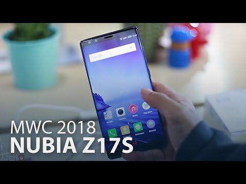 MWC 2018 : ZTE Nubia Z17s