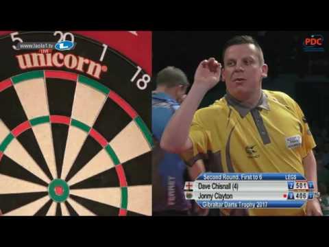 2017 Gibraltar Darts Trophy Round 2 Chisnall vs Clayton