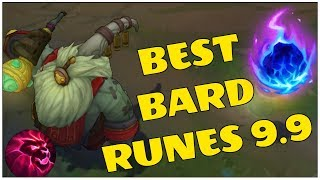 BEST BARD RUNE RIGHT NOW..? | Season 9 Bard Gameplay | League of Legends