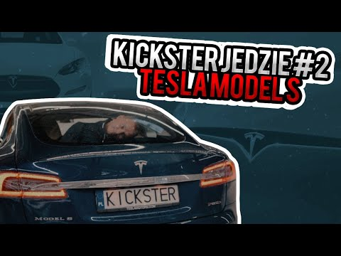 Tesla Model S - Kickster jedzie #10