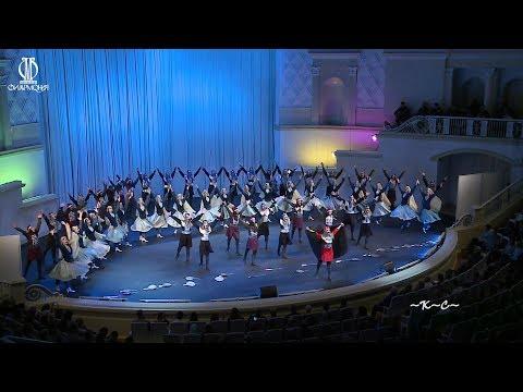 В Москве состоялся концерт Азербайджанского Государственного Ансамбля Танца.