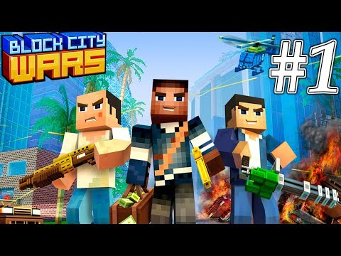 Block City Wars: Pixel Shooter With Battle Royale Gameplay Walkthrough Part 1 (ios, Android)