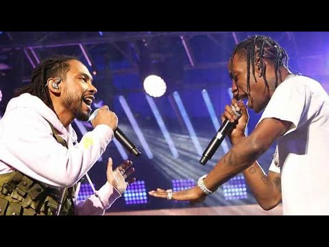 Miguel Ft. Travis Scott Sky Walker LIVE