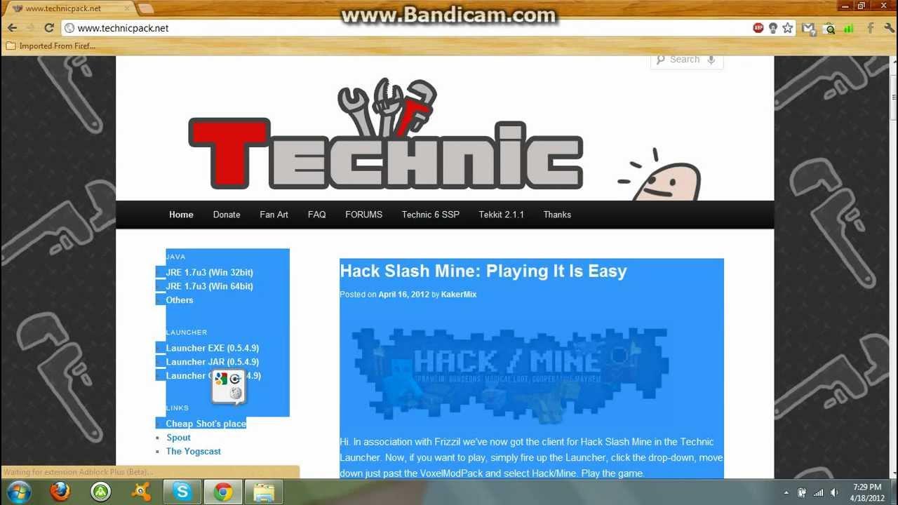 Technic Launcher Java 7 Fix on Mac by BadgerMan