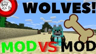Minecraft Wolf Mods: Mod VS Mod