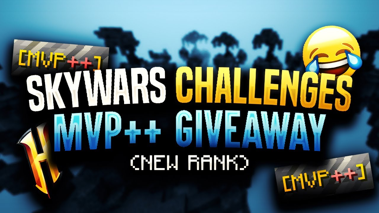 HYPIXEL WAGERS: NEW MVP++ RANK GIVEAWAY + Latenci Christmas Pack Showcase!  🎁