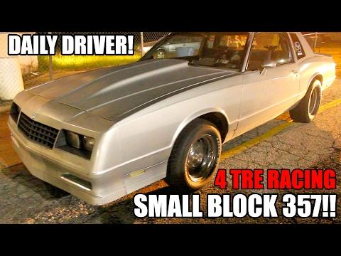 357 CUBIC INCH SMALL BLOCK DAILY DRIVEN MONTE CARLO!!