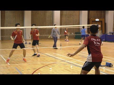 Inter-school Badminton Competition A, B Grade Finals 2017-2018