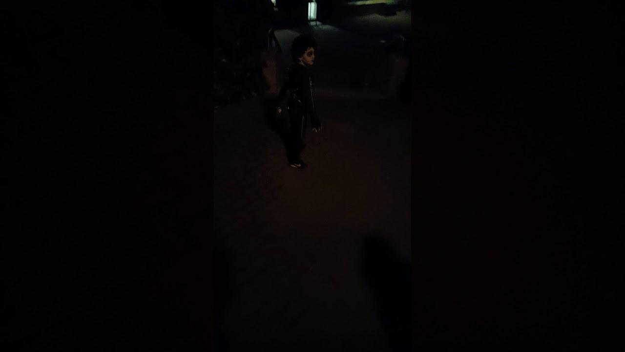 LeBron James Dressed as Edward Scissorhands For Halloween ...