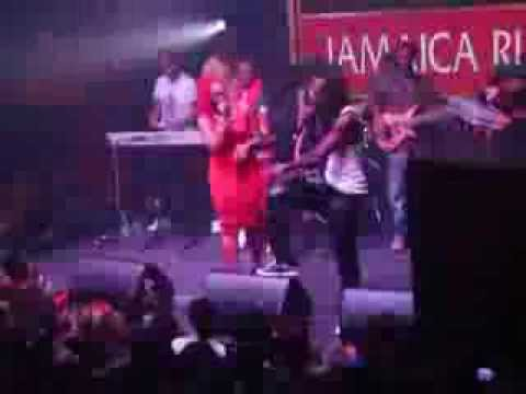 Mavado & Stacious Performing At Famous Night Club 2013
