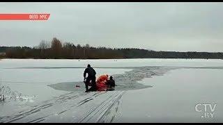 С начала зимы в Беларуси утонули уже 10 человек