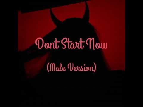 dua-lipa---don't-start-now-(male-version)