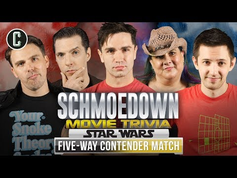 Star Wars Movie Trivia Schmoedown: Sam Witwer VS Scrimshaw VS Damon VS O'Neil VS Saunders