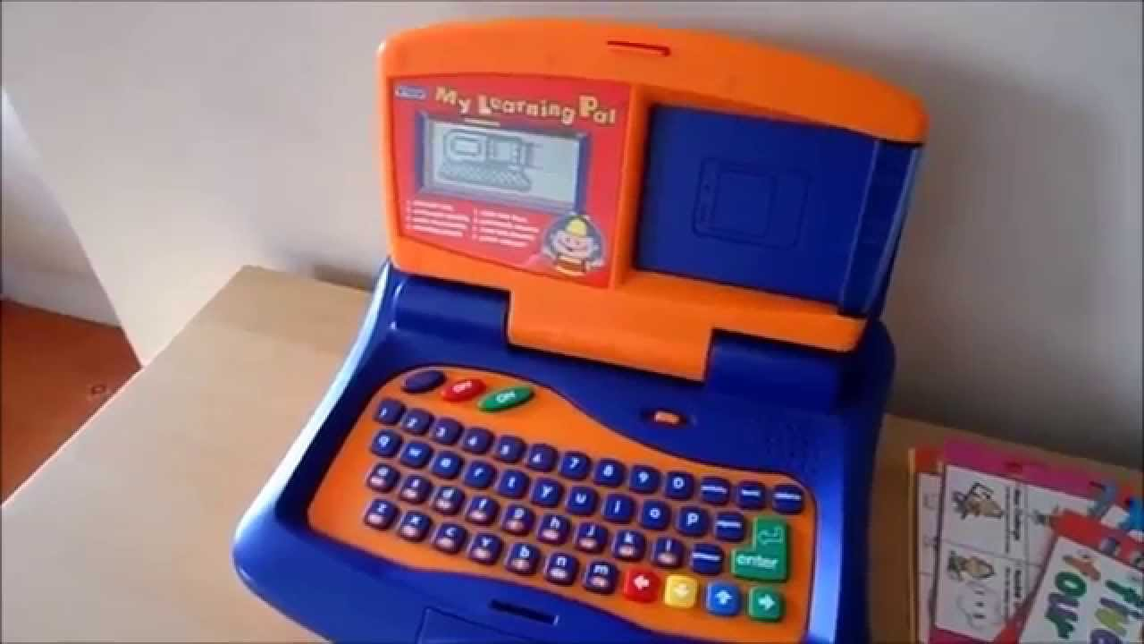 VTECH MY LEARNING PAL TOY Laptop Computer with educational ...