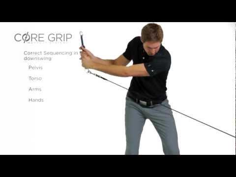 Core 12 – Golf Posture – Core Grip Golf Lift Series (Male)