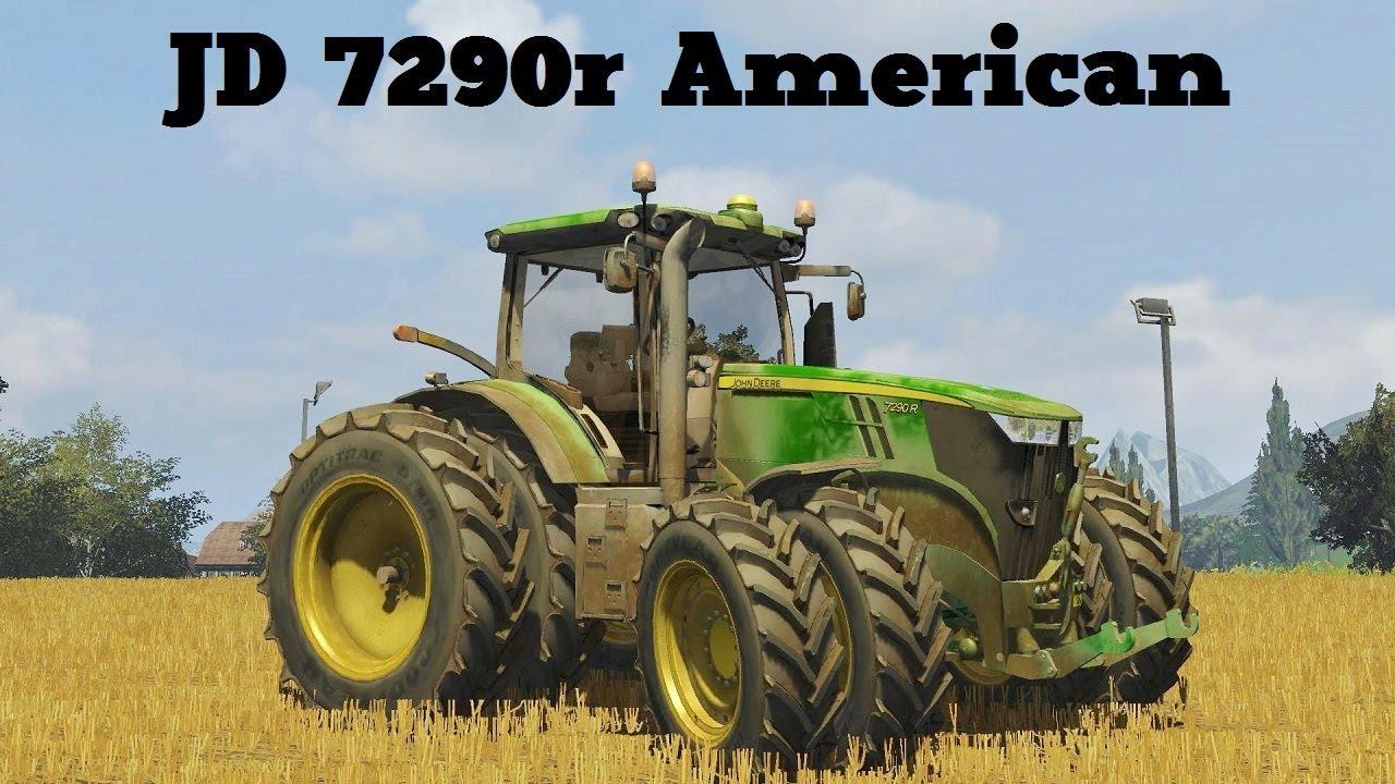Farming simulator 2013 presentazione jd 7290r american version youtube