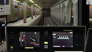 BVE Trainsim 6 銀座線6 東京メトロ1000系