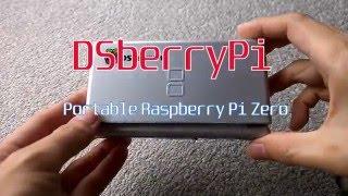 dsberrypi ポータブル raspberry pi zero 外観 dslite mod