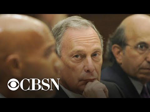 Democratic rivals take aim at Mike Bloomberg