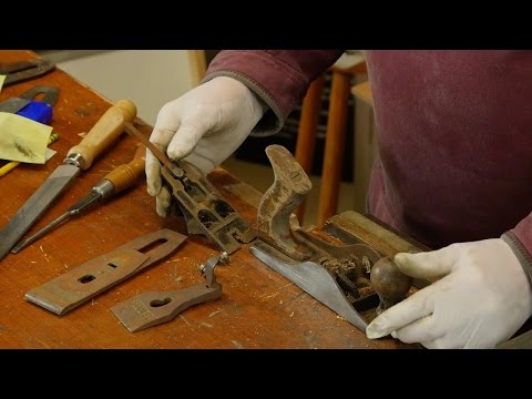 Restoring the Bench Plane with Paul Sellers