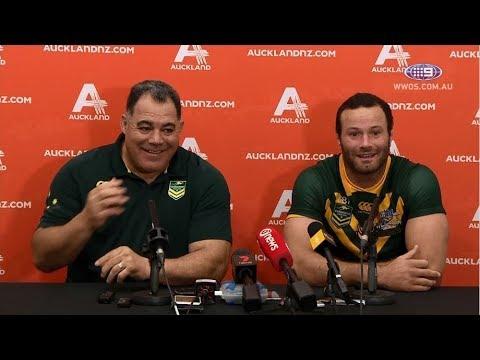 Test Match Football: Australia Press Conference