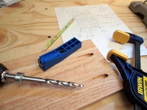 How to use a Kreg Pocket Hole Jig