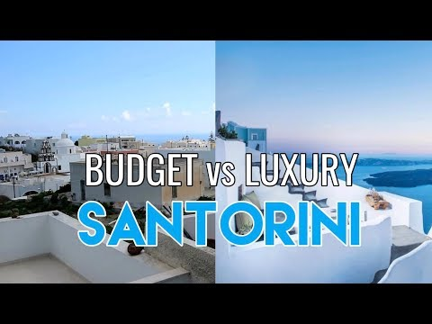 Santorini: Budget vs Luxury Hotel | Sex & Wanderlust