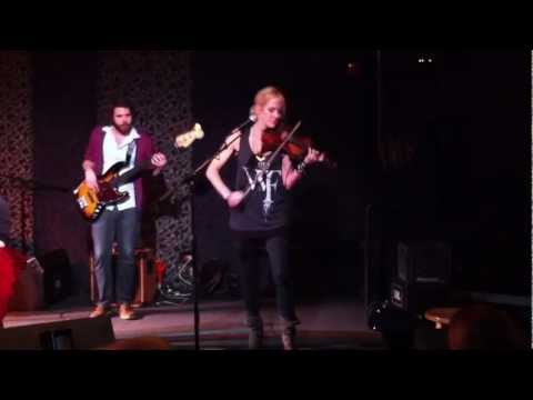 Martie Maguire sits in with John Fullbright at Poor David's Pub