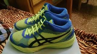 Review đôi giày asics gel volleyball elite FF mt
