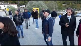 Canistro - Acqua Santa Croce - attimi di tensione